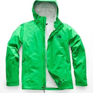 Woman's north face jacket size Medium color green
